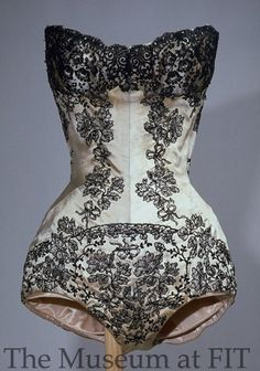 Charles James theatrical corset, 1950-1959. Collection of MFIT.