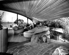 Mid-Century Modern Freak | The Segel House 1979 | Architect: John Lautner |...