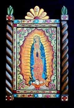 Colonial Art, Spanish Colonial, Altars, Religious Art, Holi, Religion, Mexico, Artsy, Frame