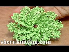 How to Crochet Spiral Flowers – 10 Petal | Design Peak