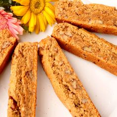 The walnuts in these dairy-free orange-and-spice cookies aren't just delicious, they're also good for you! Recipe: Orange-Walnut Biscotti   - Delish.com