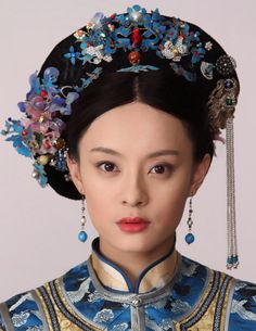 The Legend of Zhen Huan - headdresses