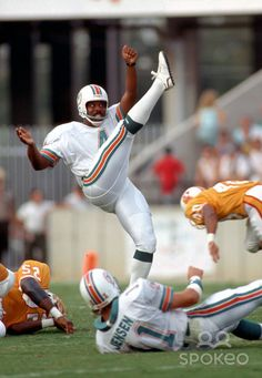Reggie Roby (1983-1992) A six time All-Pro selection with the Dolphins and member of the 1980s All-Decade Team at the punter position