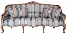 Canapea pentru living, cu aspect vintage - Exotique.ro