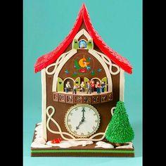 Bolo Relógio Cuco por Charm City Cakes West