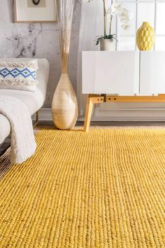 Nuloom Yellow Hand Woven Eleonora Tajt A Area Rug * nuloom yellow hand woven eleonora tajt ein bereich teppich * * area rugs Layout Rectangle Area, Rectangular Rugs, Yellow Carpet, Simple Borders, Backyard Kitchen, Natural Fiber Rugs, Round Area Rugs, Yellow Area Rugs, Outdoor Rugs