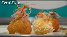 Chef en 1 Minuto:  Causitas Crocantes Coronadas de Cebiche Mar y Tierra
