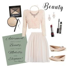 """""""beauty"""" by caitlin-ross-1 on Polyvore featuring BD Fine Wallcoverings, Rimmel, Coast, Coco Lane, Slate & Willow and Too Faced Cosmetics"""