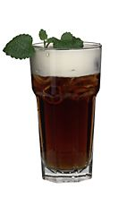 Colorado Bulldog - The Colorado Bulldog drink is made from vodka, Kahlua, lemon juice, cola and whipped cream, and served in a highball glass.