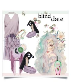 """Dress to Impress: Blind Date"" by kari-c ❤ liked on Polyvore featuring Dries Van Noten, Paula Cademartori, KG Kurt Geiger, Boohoo, The Body Shop, ESCADA, Alex and Ani and blinddate"