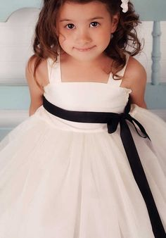 2b4e8f8e22e8 FATTIEPIE Eve Flower Girl Dress photo Ivory Flower Girl Dresses