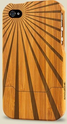 iPhone 4/4s bamboo Case by Grove