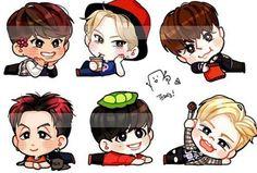 Vixx Wallpaper, N Vixx, Captions, Chibi, Leo, Fanart, Korean, Drawings, Boys