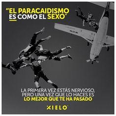 ¡Pierde con nosotros tu virginidad de #Skydiving! 😁 Sabemos que también te quedará gustando.. 👌✖️ #XieloSkydive #SaltaSeguro #SaltaConXielo #Flandes #Colombia