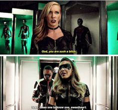 Black Canary vs Black Siren #arrowseason6
