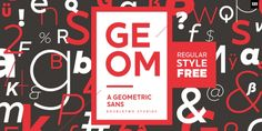 XXII Geom™ font download