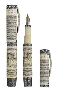 July 4, 1776 is a date that changed the world. It is the day that declared the birth of a great nation: the United States of America. This Visconti fountain pen is made in tribute to the Declaration of Independence.