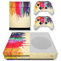 Bleeding Colors Skin - Xbox One Slim Protector