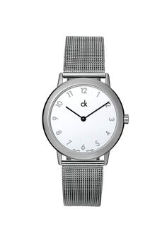 """Calvin Klein watch. """"I had one just like it without the numbers and aluminum silver time hands."""""""