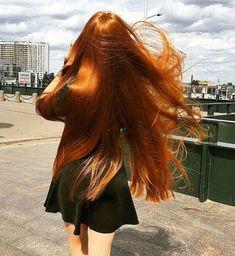 Lush Red Hair, Gorgeous.