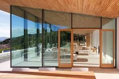 funky modern glass house exterior - Google Search
