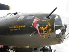 Nose Art - Memphis Belle