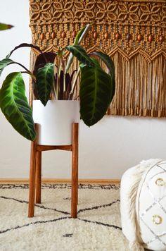 Make it boho : DIY | Mid century Pflanzenständer