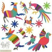 Mexican Wall Decals: by Enamorada del Muro from Argentina