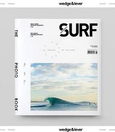In late we were hired to re-design TransWorld Surf magazine. Our objective was shifting the creative direction to support a photo-driven editorial model while breathing new life into the magazine format. The intended result: sophistication that does… Editorial Design, Editorial Layout, Magazine Layout Design, Magazine Cover Design, Design Layouts, Magazine Covers, Graphic Design Posters, Graphic Design Inspiration, Transworld Surf