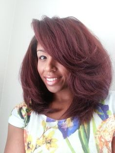 Monica // 3A Natural Hair Style Icon   Black Girl with Long Hair