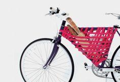 Reel by Yeongkeun Jeong creates some (unusual) bike storage in the main triangle of your bike