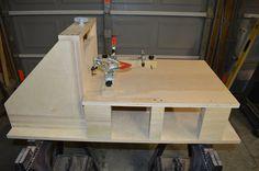 Horizontal Router Table Fixture - by Scomel Basses @ LumberJocks.com ~ woodworking community