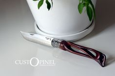 Couteau Opinel Custom Knife N°12 Hètre Lame Inox Unique | eBay