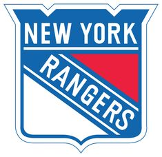 New York Rangers Primary Logo on Chris Creamer's Sports Logos Page - SportsLogos. A virtual museum of sports logos, uniforms and historical items. Hockey Logos, Nhl Logos, Hockey Teams, Sports Teams, Sports Logos, Hockey Players, Ice Hockey, Rangers Hockey, Rangers News