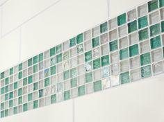 glassy green...Origins Glass by Crossville