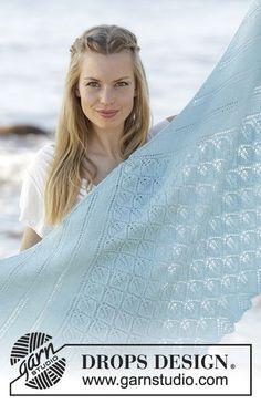 Cinderella / DROPS - Free knitting patterns by DROPS Design Top and bottom knitted scarf with leaves and lace pattern in DROPS alpaca. Free patterns by DROPS Design. Lace Knitting Patterns, Shawl Patterns, Lace Patterns, Drops Design, Knitting Socks, Free Knitting, Alpacas, Top Pattern, Free Pattern