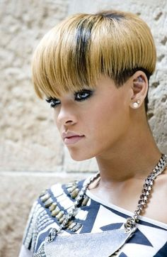 12 Rihanna Short Hairstyles With Different Colors & Styles for 2014 | Have a Good Hair Day