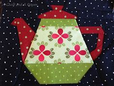 A Quilt and A Prayer: Fun with Dots on Dots!!!  (A Craftsy Pattern.)