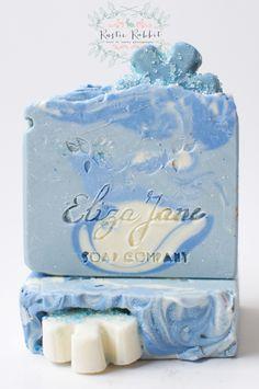 Frozen Luxury Soap bar by Eliza Jane Soap Company - Winter 2014