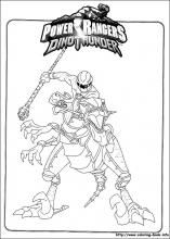 More Power Ranger Coloring Pages