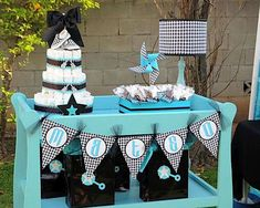 bling ideas | ... Bye Baby Shower - Kara's Party Ideas - The Place for All Things Party