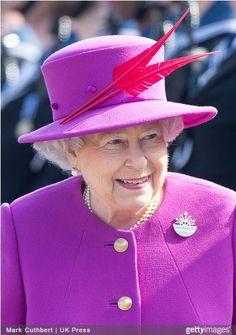 Queen Elizabeth, March 20, 2015 in Angela Kelly | Royal Hats