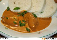 Chicken on red pepper Czech Recipes, Ethnic Recipes, Easy Cooking, Cooking Recipes, Turkey Chicken, What To Cook, Food Lists, Main Meals, Dessert Recipes
