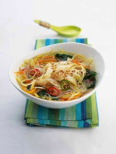 I love this soup on a cold winter's day.  Quick, Easy Oriental Style Smoked Haddock Soup