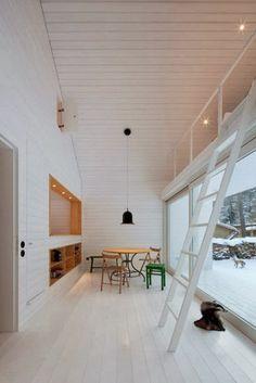 Waldhaus - My Scandinavian Retreat - awesome place for a hidden loft