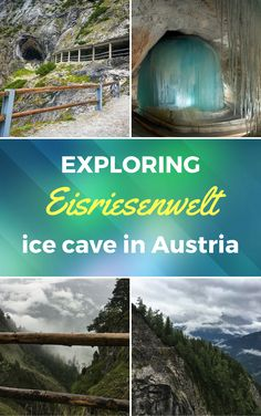 Eisriesenwelt ice cave in austria is a must see for anyone staying around Salzburg. It is a stunning cave covered with ice Backpacking Europe, Europe Travel Tips, Places To Travel, Travel Destinations, Places To Visit, Travel Humor, Funny Travel, Salzburg Austria, Austria Travel