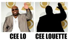 I see a little Cee Louette-a of a man. A man with tiny hands.