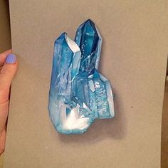 Crystal drawing By @ennife _