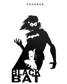 Black Bat - Focused by Steve Garcia