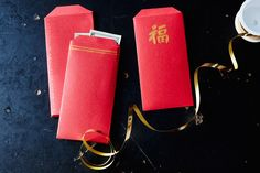 How to Make Your Own Lucky Red Envelopes for Chinese New Year Make Your Own, Make It Yourself, How To Make, Money Envelopes, Chinese American, Red Envelope, Red Jewelry, Cut My Hair, Lunar New